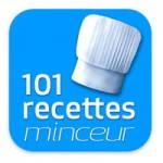 Logo de l'application smartphone 101 recettes minceur.