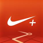 Logo de l'application smartphone Nike+ Running.
